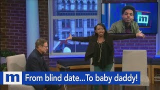From blind date...To baby daddy! | The Maury Show
