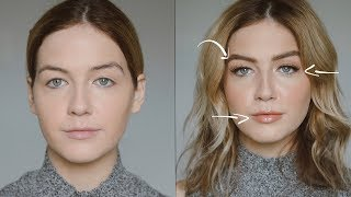 Video How to Create Naturally Larger Features (Eyes, Lips, Brows etc.) MP3, 3GP, MP4, WEBM, AVI, FLV Juli 2019
