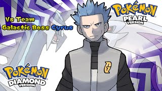 Pokemon Diamond/Pearl/Platinum - Battle! Team Galactic Boss Music (HQ)