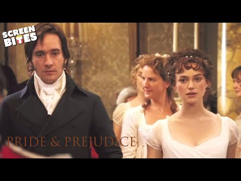 Pride and Prejudice: Elizabeth (Keira Knightley) and Darcy's (Matthew Macfadyen) Dance