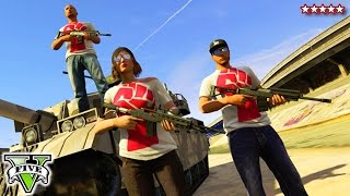 GTA 5 LAST TEAM STANDING Mayhem!! - GTA 5 Online LTS Playlist Funny Moments - GTA V Best Jobs