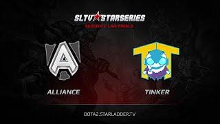 TTinker vs Alliance, game 1
