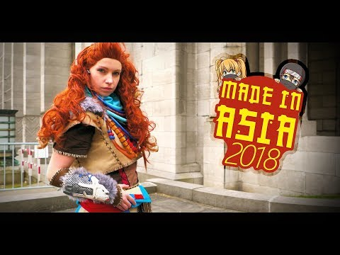 Made in Asia 2018 :: Brussels Expo, Belgium Cosplay Video