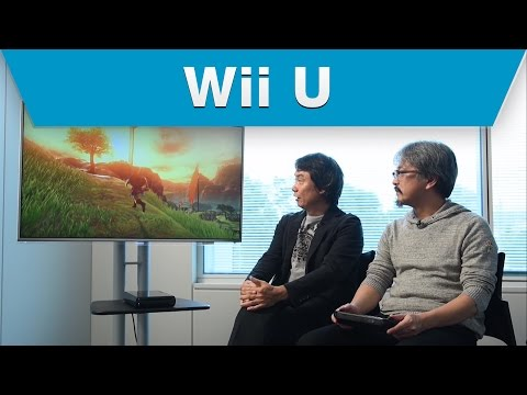Wii U The Legend of Zelda Gameplay First Look