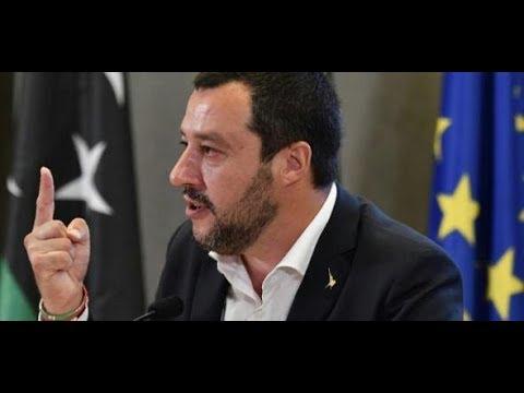 ITALIENS INNENMINISTER: Salvini provoziert mit Plänen für neue Hafensperre