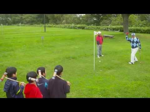 北海道北広島市に住みたくなる動画「パークゴルフの先輩。」