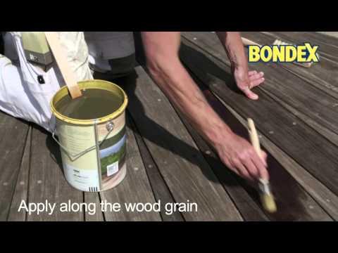 BONDEX EXTREME Olio all'acqua per terrazza in legno