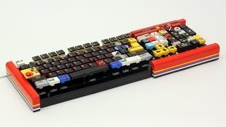 Working LEGO Computer Keyboard
