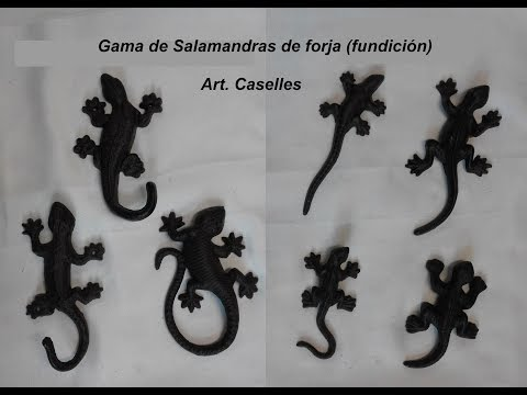 Salamandras de forja Art. Caselles