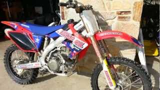 2. 2005 Honda Crf450r Walkaround/Start up
