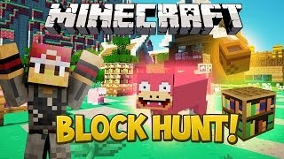 Prop Hunt In Minecraft! - Block Hunt (Mineplex) Minecraft Mini-Game w/LittleLizardGaming