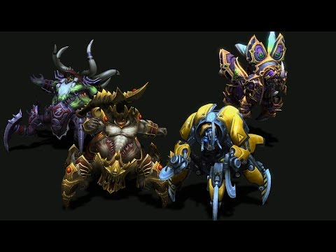 In Development: Anub'arak and Azmodan skins