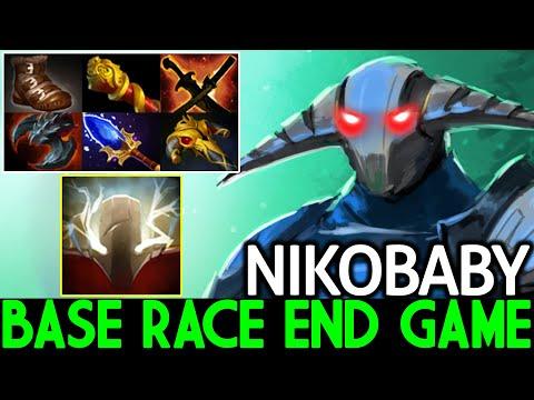 NIKOBABY [Sven] Crazy End Game Base Race Top Pro Carry Dota 2