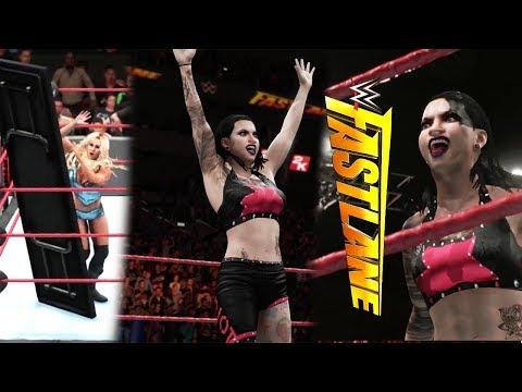 WWE Fastlane Ruby Riott vs Charlotte | WWE 2K18