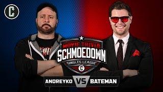Marc Andreyko VS Ben Bateman - Movie Trivia Schmoedown by Collider