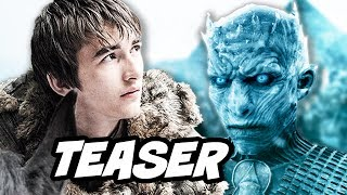 Game Of Thrones Season 7 Teaser Trailer 3 Breakdown. New Footage of Daenerys at Dragonstone, Jon Snow vs Night King, Sansa and Season 7 Episode 1 Next Week ►...