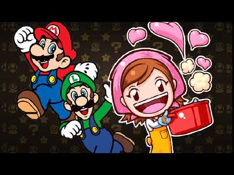 Mario Bros. And Cooking Mama Wallpaper