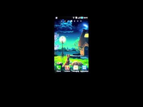Video of Night Garden Wallpaper - Free