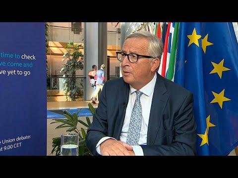 Συνέντευξη του Ζαν Κλοντ Γιούνκερ στο euronews