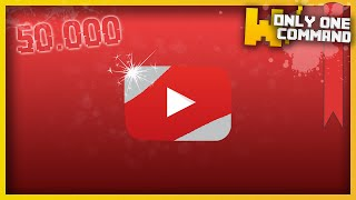 Minecraft - Youtube with only one command block (50th command - 50'000 special)