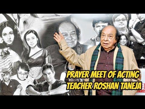 Prayer Meet Of Acting Teacher ROSHAN TANEJA