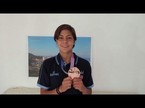 La Pattese Beatrice Stroscio conquista il bronzo.