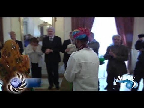 Saluto istituzionale oggi ad Agrigento tra il Prefetto e le delegazioni internazionali