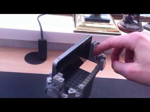 Подставка для планшета своими руками из лего