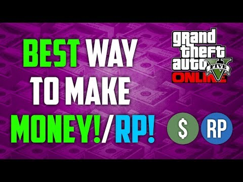 GTA 5 Online – How to Make Money Fast & Rank Up Fast in GTA Online! (500k+ per hour) (GTA V)