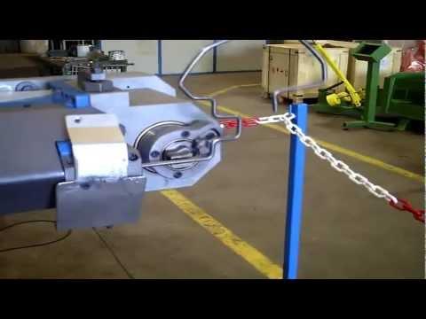 OMAS giętarka drutu CNC CEB 606 part 2
