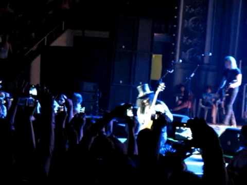 Slash – Guitar Solo Live in Lisboa 2010