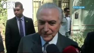 Presidente Temer dice no renunciará aunque sea imputado por corrupción