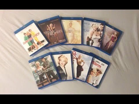 Marilyn Monroe Movie Collection: 9 Films (1953-1961) - Blu Ray Review And Unboxing