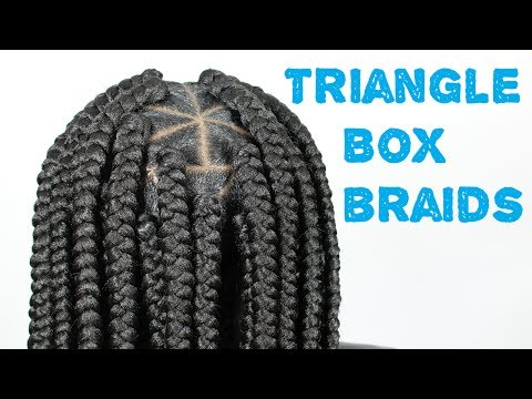 Jumbo Box Braids Tutorial