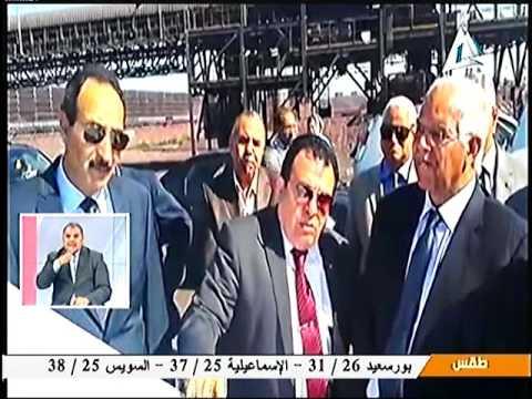 وزير النقل يتفقد ميناء الدخيله البحري