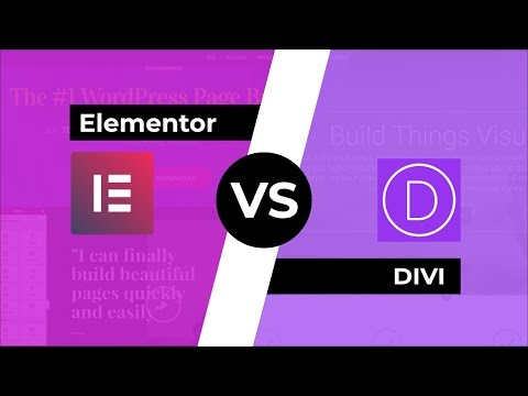 Elementor 2.0 vs DIVI: Outstanding Page Builders Compared