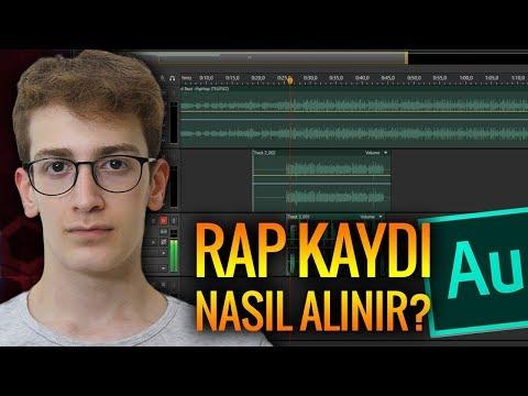 RAP KAYDI NASIL ALINIR? - PROFESYONEL SES KAYDI (Adobe Audition)