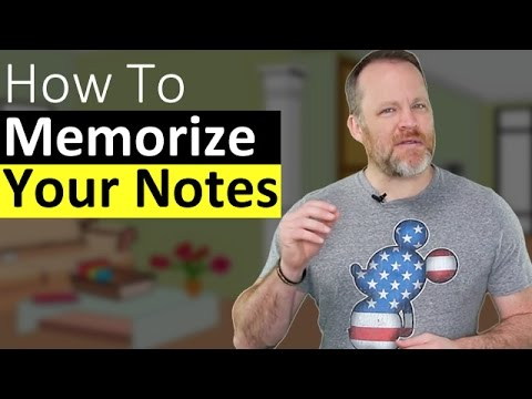 How To Memorize Your Notes - Remember What You Learn In Class