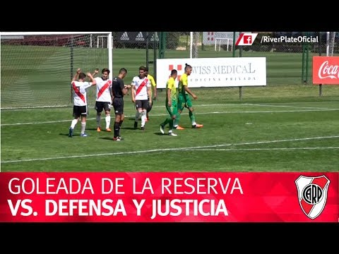 #DivisiónReserva: River vs. Defensa y Justicia