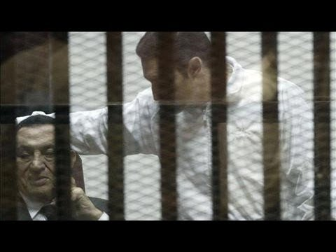 mubarak - An Egyptian court sentenced former President Hosni Mubarak to three years in jail for embezzlement, marking the latest twist in the judiciary's stumbling eff...