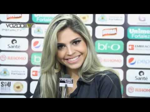 Mirela Forte - Representante do Vozão no Miss Ceará 20013