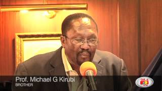 Chris Kirubi receives a Doctorate