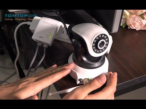 KKMOON 720P H.264 Pan Tilt WiFi Wireless IP Network Camera
