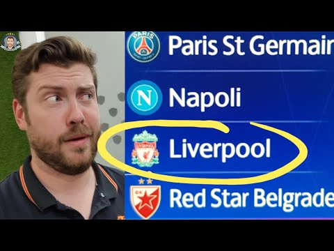 Liverpool Got PSG And Napoli! CHRIST! (Champions League Draw Reaction)