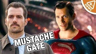Video The Real Reason Behind Justice League's Mustache-Gate! (Nerdist News w/ Jessica Chobot) MP3, 3GP, MP4, WEBM, AVI, FLV Agustus 2018