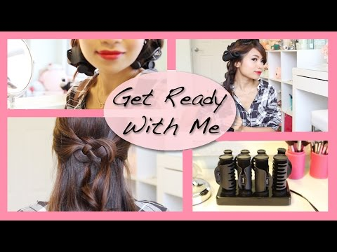 Get Ready With Me: Holiday Glam Hairstyle