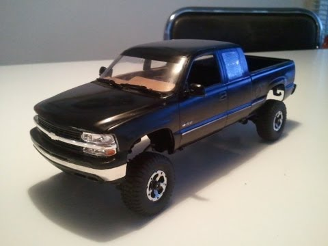 Losi Micro Crawler - '99 Chevy Silverado Scaler - Build & Drive