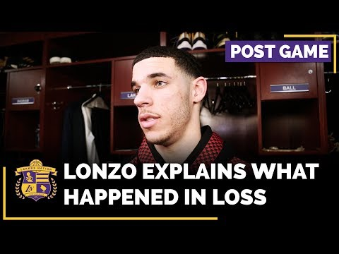 Video: Lonzo Ball Explains What Happened In Loss To Miami Heat