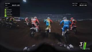Monster Energy Supercross - Helmet View Gameplay (PC HD) [1080p60FPS]