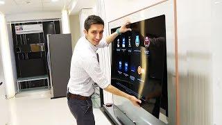 Обзор технологии крепления на стену телевизора-обоев LG OLED Signature W OLED65W7V Все выпуски и новые обзоры:...